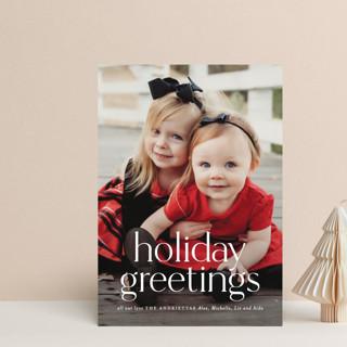 Timeless Christmas Holiday Postcards