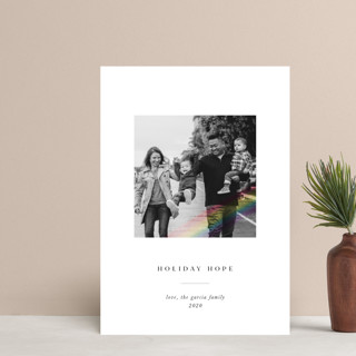 Rainbow Overlay Holiday Postcards
