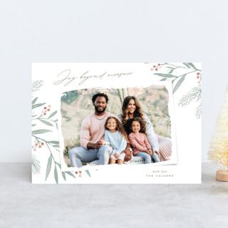 Organic Harmony Holiday Postcards