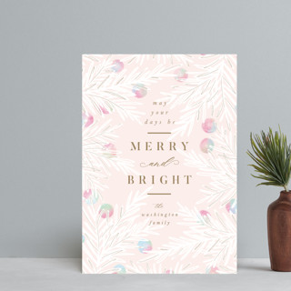 Bright Berries Holiday Postcards