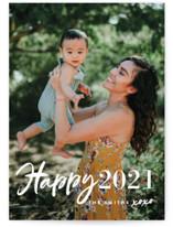 New Year XOXO Holiday Postcards