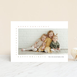 merry frame Holiday Postcards