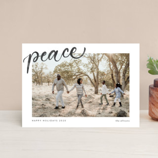 Simple Cheers Holiday Postcards
