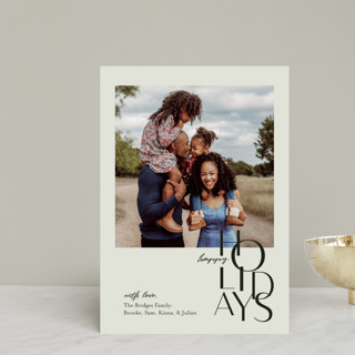 Gallery Type Holiday Postcards