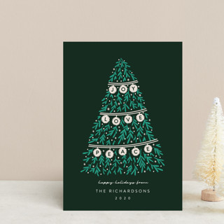 Banner Tree Holiday Postcards