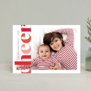 Brightly Stamped Cheer Holiday Postcards