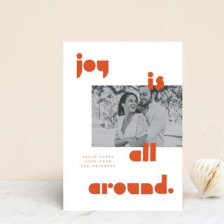 Joy Scout Holiday Postcards