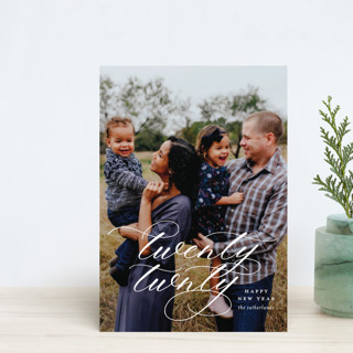 This New Year Holiday Postcards