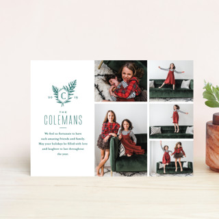 Modern Classic Holiday Postcards