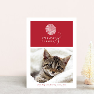 Meowy Catmus Holiday Postcards