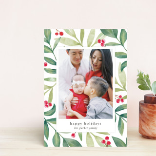 Holiday Greenery Holiday Postcards
