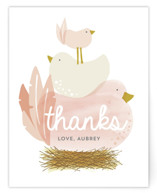 Ready to Hatch Flat Baby Shower Thank You Cards