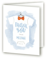 Bow Tie Baby Baby Shower Thank You Cards