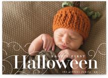 Baby's First Halloween Halloween Postcards
