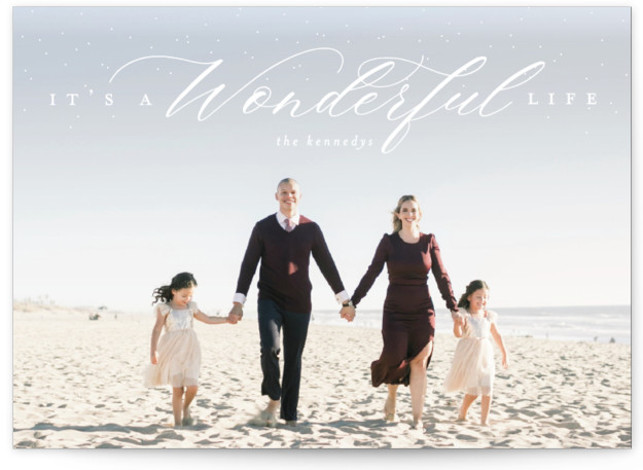 It's A Wonderful Life Holiday Photo Cards