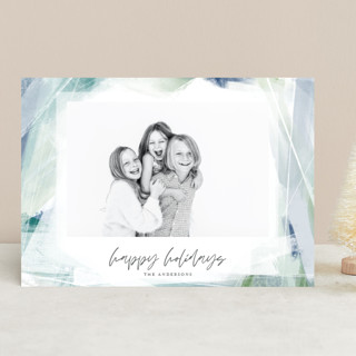 Wintry Window Holiday Photo Cards