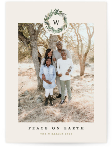 Peace on Earth Holiday Photo Cards