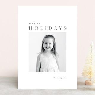 razzleberry Holiday Photo Cards