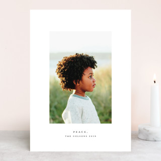 Peace. Holiday Photo Cards