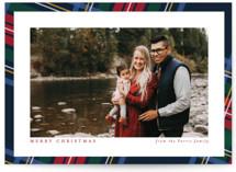 Plaid Framed Holiday Photo Cards
