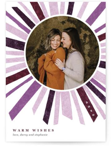 Cheery Burst Holiday Photo Cards