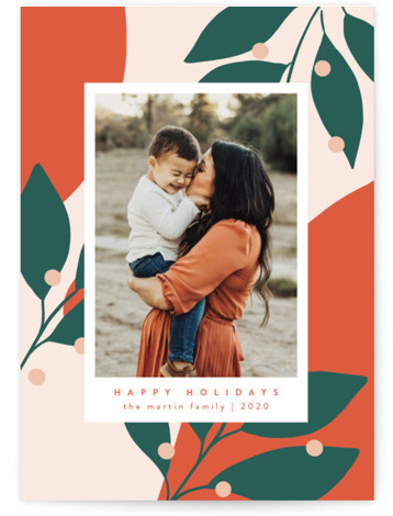 Bold and Bright Holiday Photo Cards
