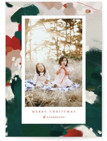 Blithely Holiday Photo Cards