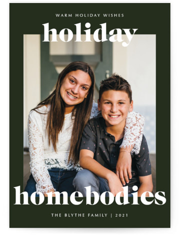 holiday homebodies Holiday Photo Cards