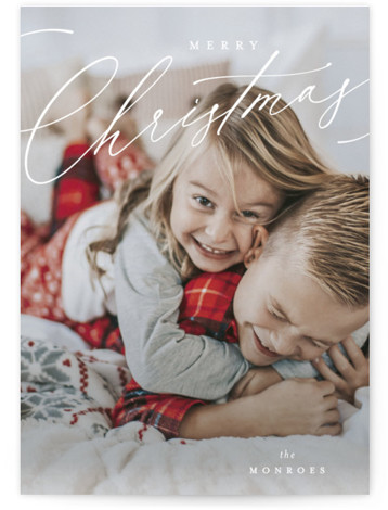 Sentimental Holiday Photo Cards