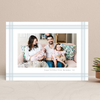 Organic Holiday Photo Cards