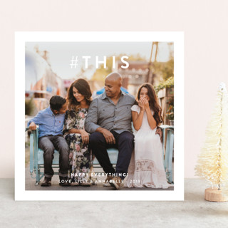 Hashtag This Holiday Photo Cards