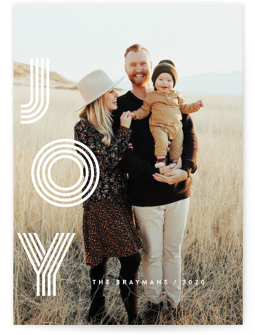 Ever Joyful Holiday Photo Cards
