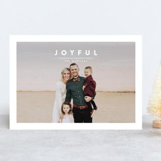 ricotta Holiday Photo Cards