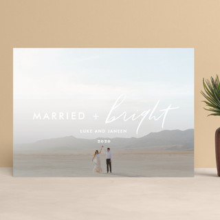 Bright Love Holiday Photo Cards