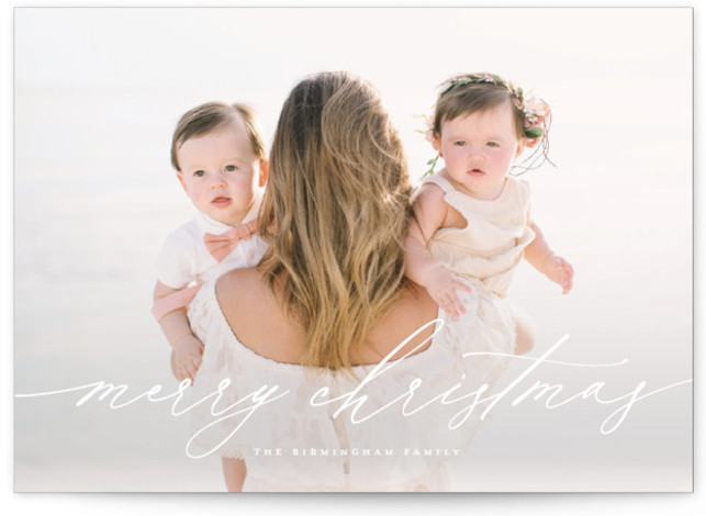Christmas Letter Holiday Photo Cards