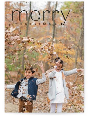 Mod Tidings Holiday Photo Cards