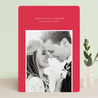 Simply Bright Holiday Photo Cards