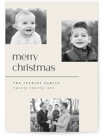 Multi Holiday Photo Cards