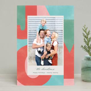A Block of Joy Holiday Photo Cards