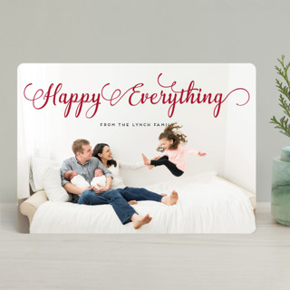 Stylish and Merry Holiday Photo Cards