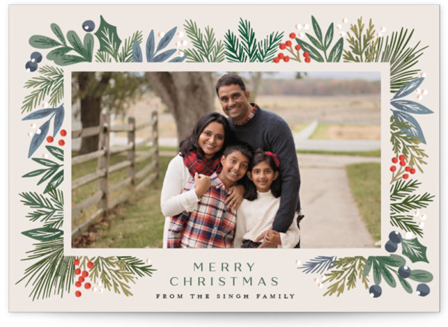 Forest Finds Holiday Photo Cards