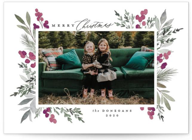 Abundant Holiday Photo Cards
