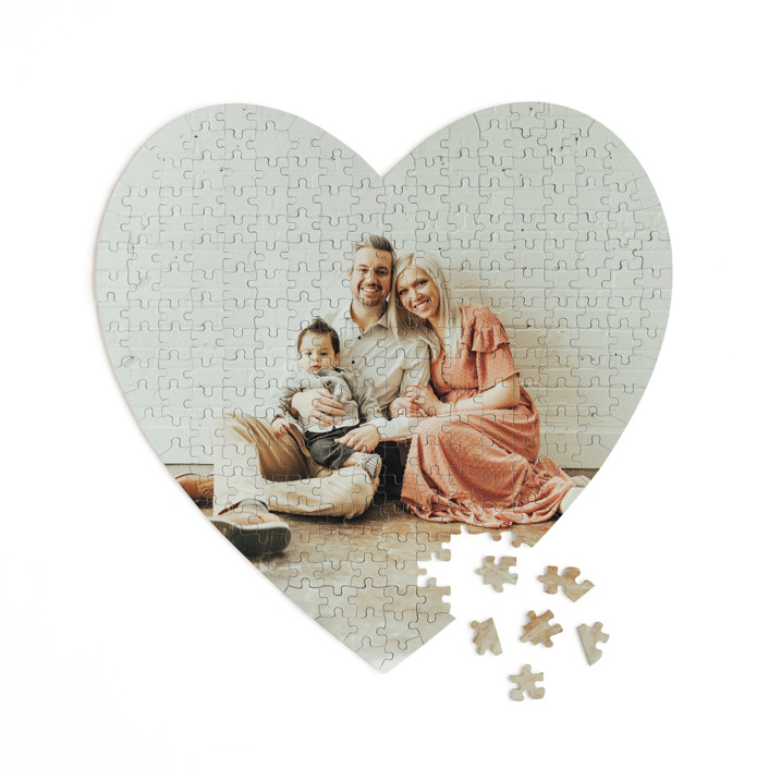 The Big Picture 252 Piece Custom Heart Puzzle