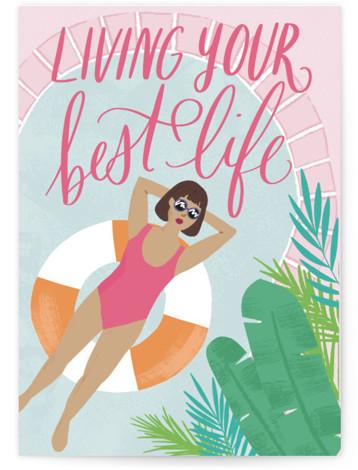 Chill AF Individual Feminine Birthday Greeting Cards