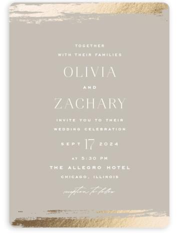 True Love Wedding Invitations