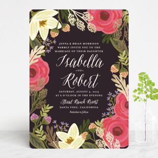 Rhapsody Foil-Pressed Wedding Invitations