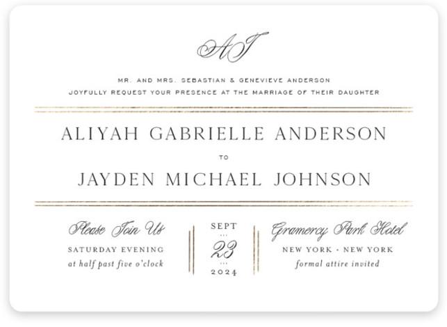 Joyous Occasion Wedding Invitations