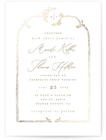 Reflection Wedding Invitations