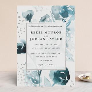 Modern Muse Foil-Pressed Wedding Invitations