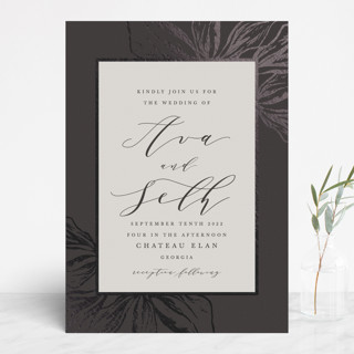 Forevermore Foil-Pressed Wedding Invitations